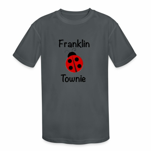 Franklin Townie Ladybug - Kids' Moisture Wicking Performance T-Shirt