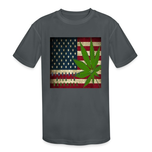 Political humor - Kids' Moisture Wicking Performance T-Shirt