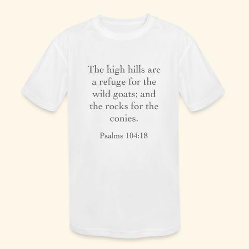 High Hills KJV - Kids' Moisture Wicking Performance T-Shirt