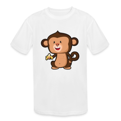 Baby Monkey - Kids' Moisture Wicking Performance T-Shirt