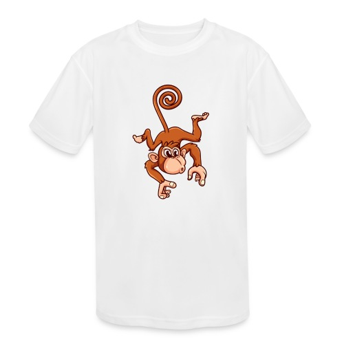 Cheeky Monkey - Kids' Moisture Wicking Performance T-Shirt