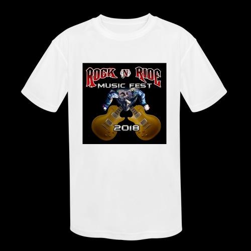 RocknRide Design - Kids' Moisture Wicking Performance T-Shirt