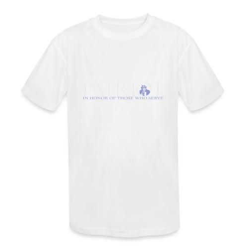 PATRIOT-SAM-USA-LOGO-REVERSE - Kids' Moisture Wicking Performance T-Shirt