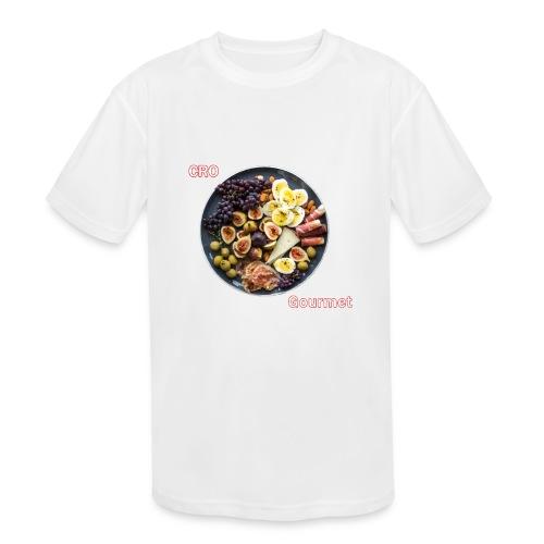 Croatian Gourmet - Kids' Moisture Wicking Performance T-Shirt