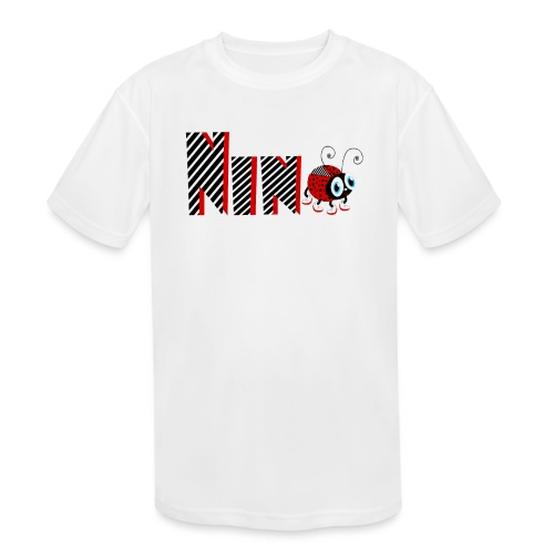 9nd Year Family Ladybug T-Shirts Gifts Daughter - Kids' Moisture Wicking Performance T-Shirt