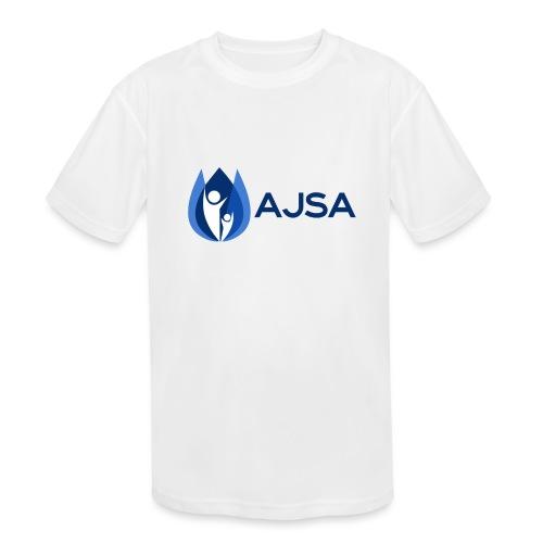 AJSA Bleu - Kids' Moisture Wicking Performance T-Shirt