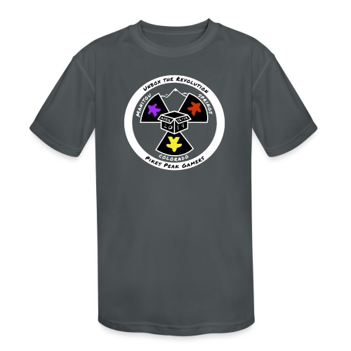 Pikes Peak Gamers Convention 2019 - Clothing - Kids' Moisture Wicking Performance T-Shirt