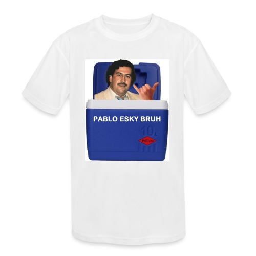 Pablo Esky Bruh - Kids' Moisture Wicking Performance T-Shirt