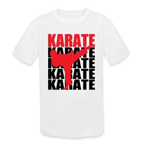 Karate - Kids' Moisture Wicking Performance T-Shirt