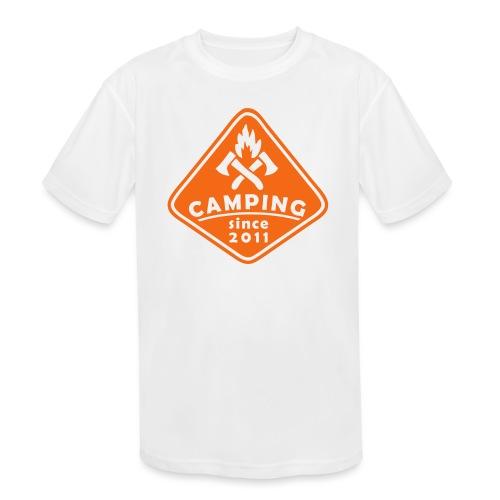Campfire 2011 - Kids' Moisture Wicking Performance T-Shirt