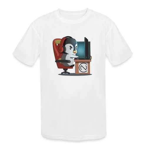 TNC Penguin - Kids' Moisture Wicking Performance T-Shirt