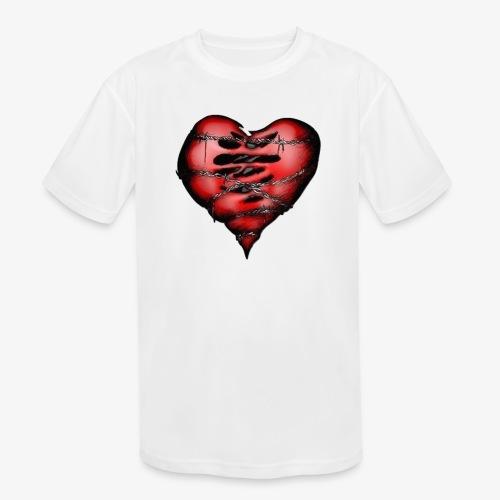 Chains Heart Ceramic Mug - Kids' Moisture Wicking Performance T-Shirt
