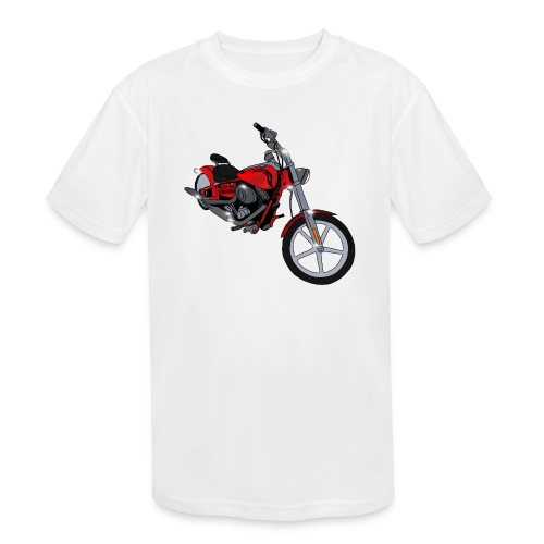 Motorcycle red - Kids' Moisture Wicking Performance T-Shirt