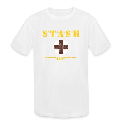 STASH-Final - Kids' Moisture Wicking Performance T-Shirt