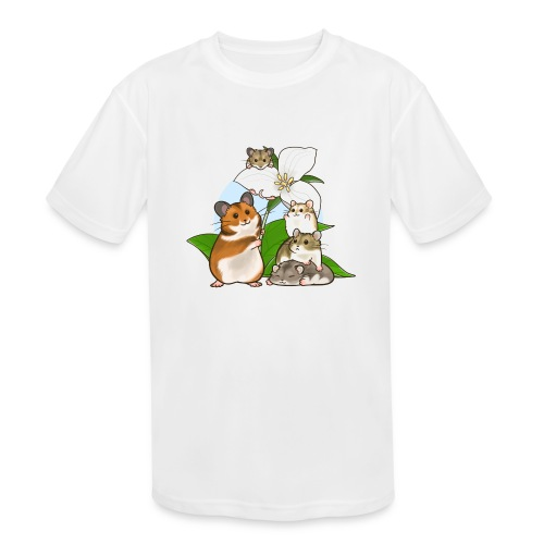 Ontario Hamster Club - Kids' Moisture Wicking Performance T-Shirt