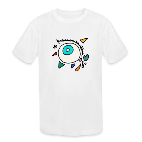Punkodylate Eye - Kids' Moisture Wicking Performance T-Shirt