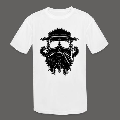 OldSchoolBiker - Kids' Moisture Wicking Performance T-Shirt