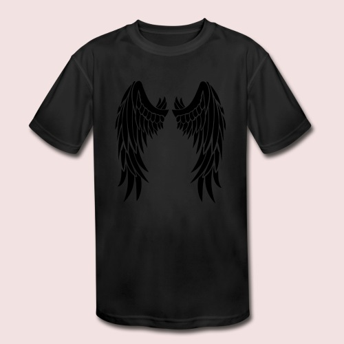 Angel wings - Kids' Moisture Wicking Performance T-Shirt
