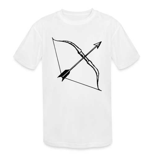 bow and arrow 3 - Kids' Moisture Wicking Performance T-Shirt
