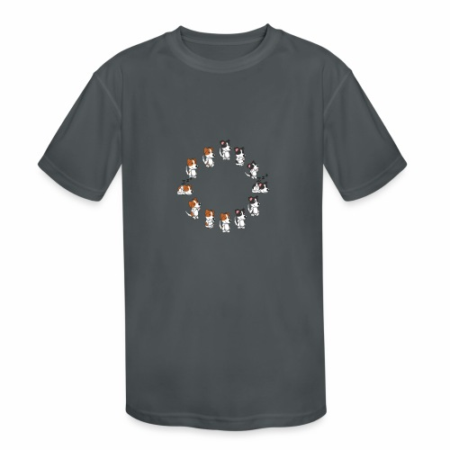 all dogs - Kids' Moisture Wicking Performance T-Shirt