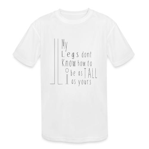 My-Legs - Kids' Moisture Wicking Performance T-Shirt