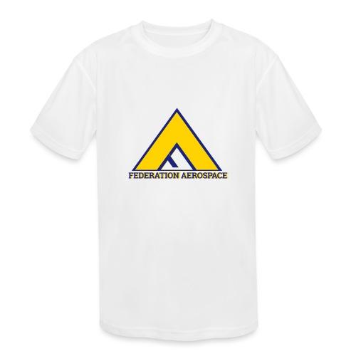 Federation Aerospace - Kids' Moisture Wicking Performance T-Shirt