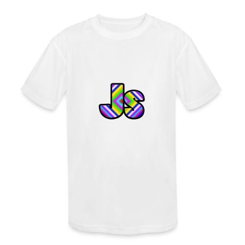 JsClanLogo2 - Kids' Moisture Wicking Performance T-Shirt