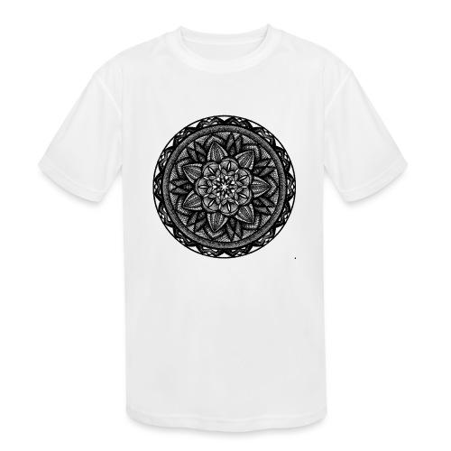 Circle No.2 - Kids' Moisture Wicking Performance T-Shirt