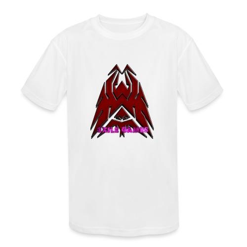 3XILE Games Logo - Kids' Moisture Wicking Performance T-Shirt