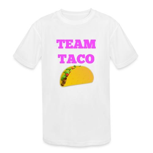TEAMTACO - Kids' Moisture Wicking Performance T-Shirt