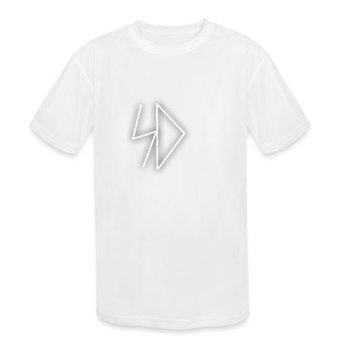 Sid logo white - Kids' Moisture Wicking Performance T-Shirt