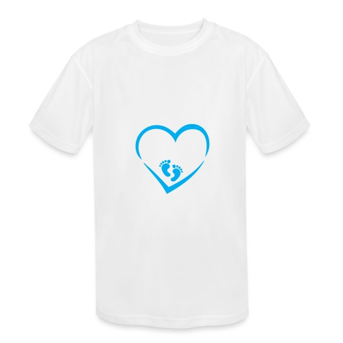 Baby coming soon - Kids' Moisture Wicking Performance T-Shirt