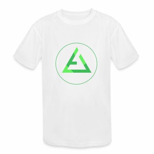 crypto logo branding - Kids' Moisture Wicking Performance T-Shirt