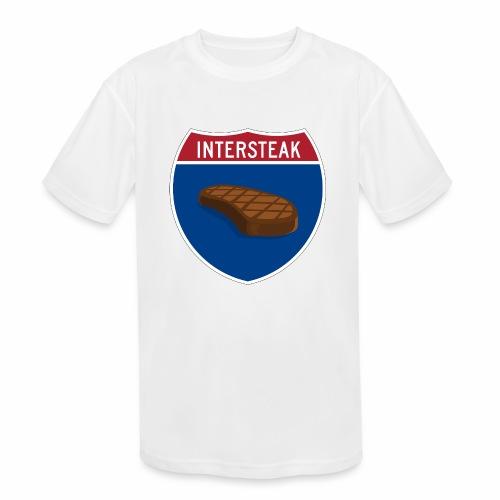 Intersteak - Kids' Moisture Wicking Performance T-Shirt