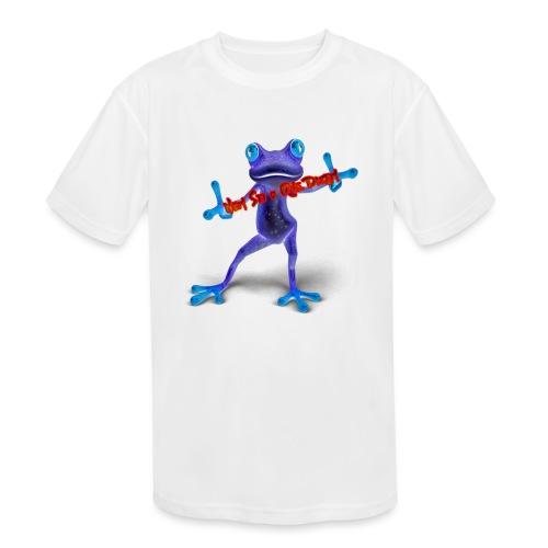 Logo - Nem Sei o Que Dizem - Podcast - Kids' Moisture Wicking Performance T-Shirt