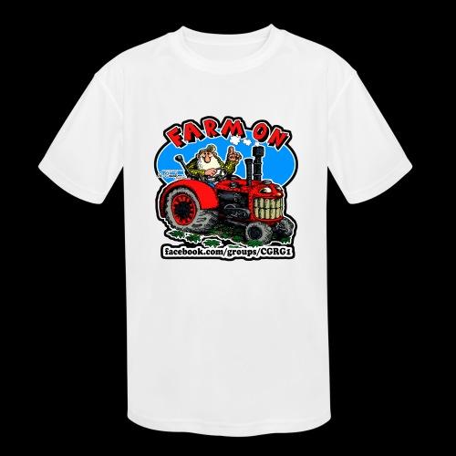 Mr Natural Farm On - Kids' Moisture Wicking Performance T-Shirt