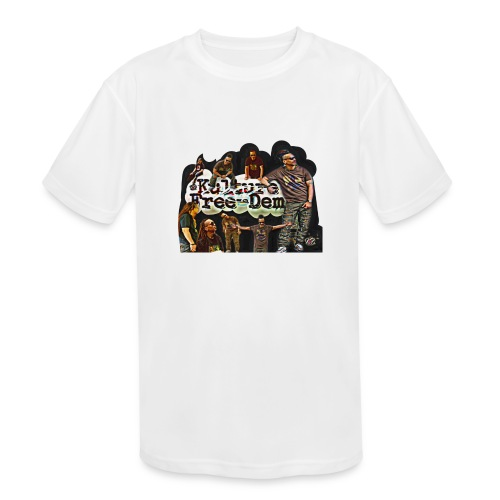 KFree Blackliner Collection - Kids' Moisture Wicking Performance T-Shirt