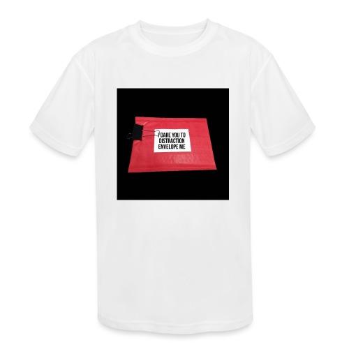 Distraction Envelope - Kids' Moisture Wicking Performance T-Shirt