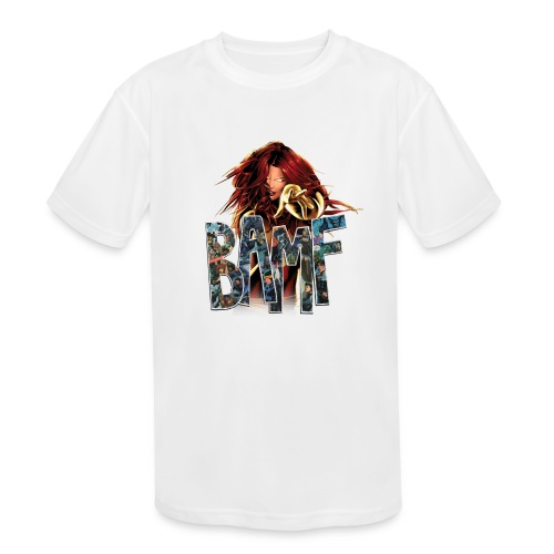 phoenix png - Kids' Moisture Wicking Performance T-Shirt