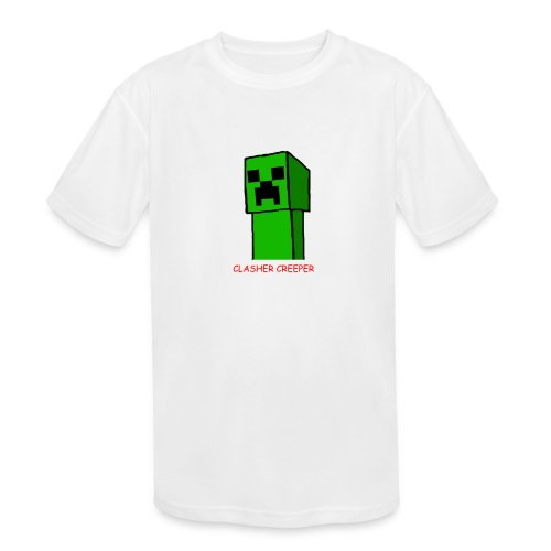 It's just Clasher Creeper - Kids' Moisture Wicking Performance T-Shirt