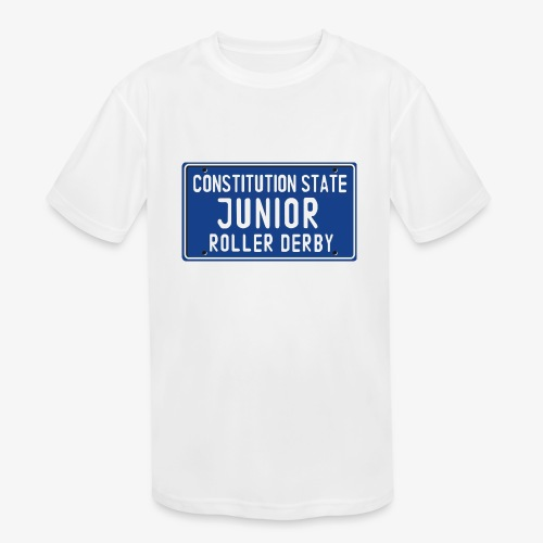 Constitution State Junior Roller Derby - Kids' Moisture Wicking Performance T-Shirt