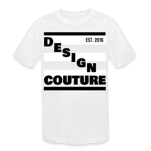 DESIGN COUTURE EST 2016 BLACK - Kids' Moisture Wicking Performance T-Shirt