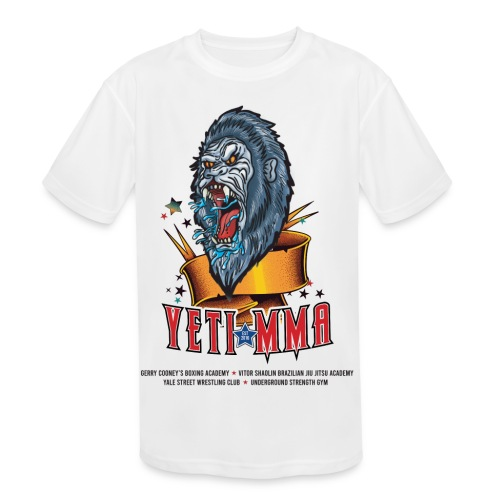 YETI MMA Never Quit 2020 Fundraiser - Kids' Moisture Wicking Performance T-Shirt