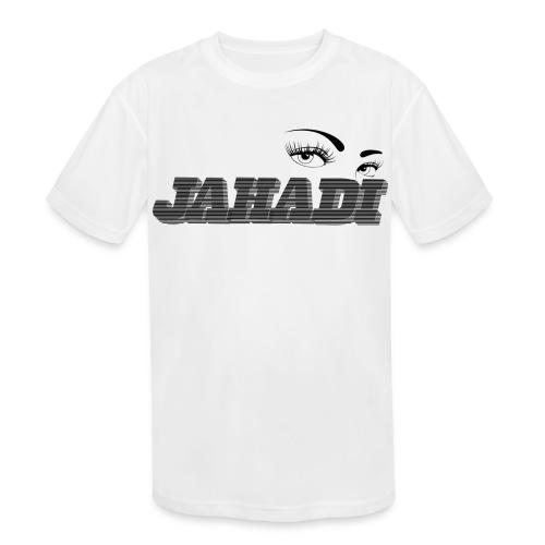 HadiLogo - Kids' Moisture Wicking Performance T-Shirt