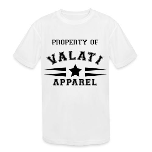 Property Of - Kids' Moisture Wicking Performance T-Shirt
