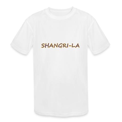 Shangri La gold blue - Kids' Moisture Wicking Performance T-Shirt