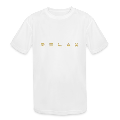 Relax gold - Kids' Moisture Wicking Performance T-Shirt