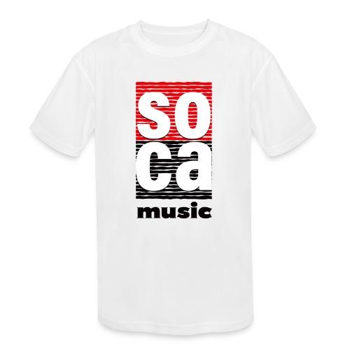 Soca music - Kids' Moisture Wicking Performance T-Shirt