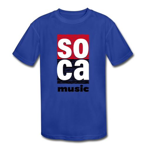 Soca music - Kids' Moisture Wicking Performance T-Shirt