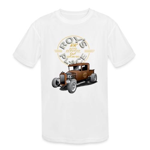 RoysRodDesign052319_4000 - Kids' Moisture Wicking Performance T-Shirt